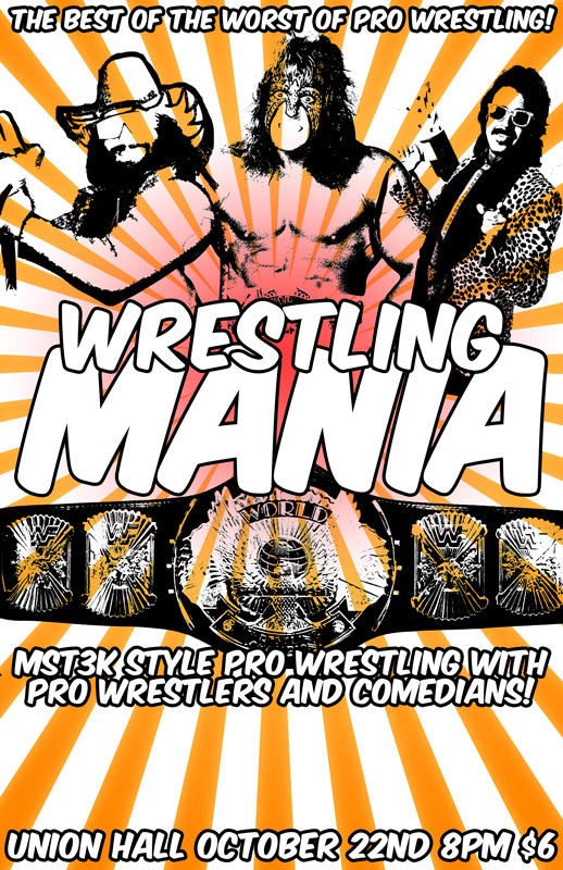 Wrestling Mania at Union Hall