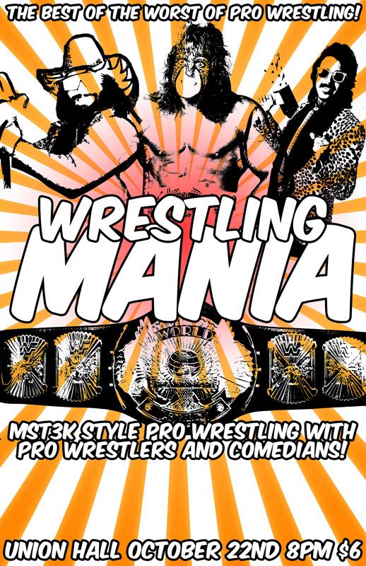 Wrestling Mania at Union Hall