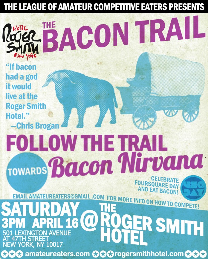 The LACE Bacon Trail Poster