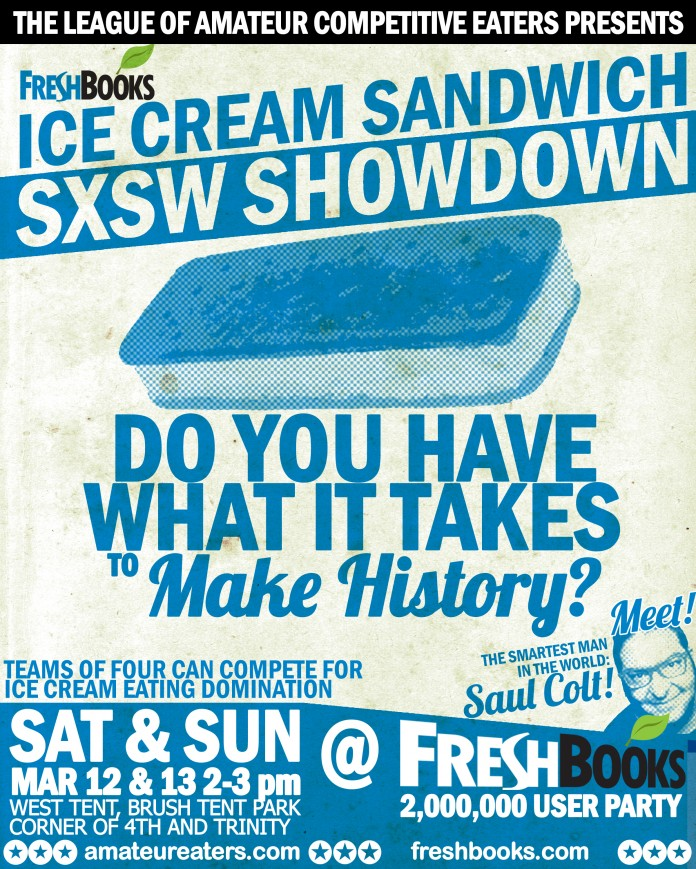 The Ice Cream Sandwich Showdown Poster
