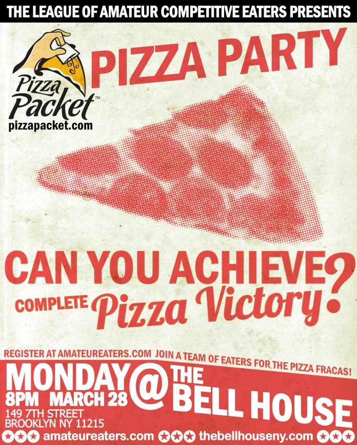 The LACE Pizza Party Poster