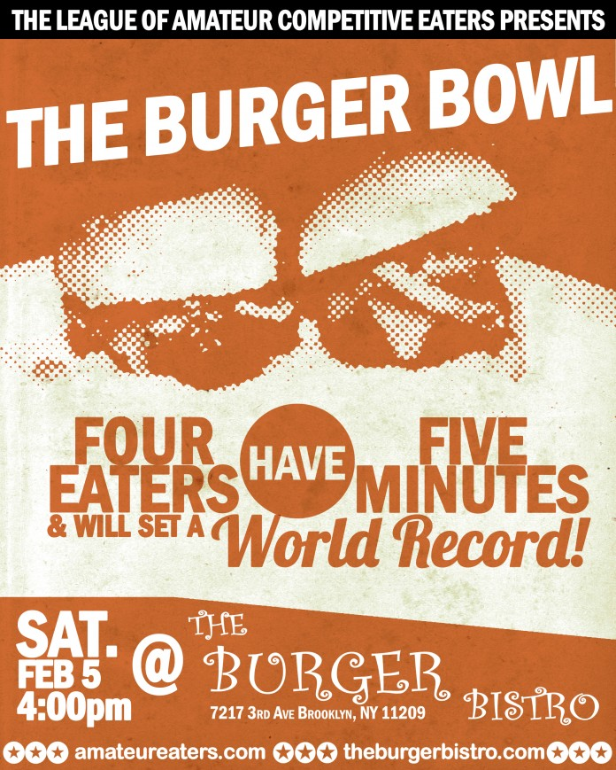 The LACE Burger Bowl poster